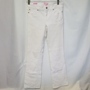 Lilly Pulitzer White main line fit size 2